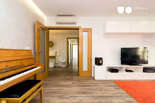 Remodelação de Apartamento Urban Obras | entrada sala