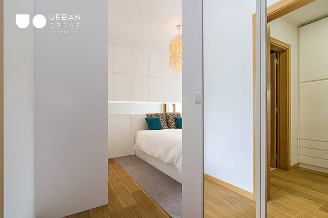Remodelação de Apartamento Urban Obras | entrada quarto