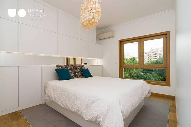 Remodelação de Apartamento Urban Obras | vista quarto
