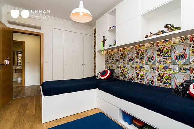 Remodelação de Apartamento Urban Obras | quarto criança