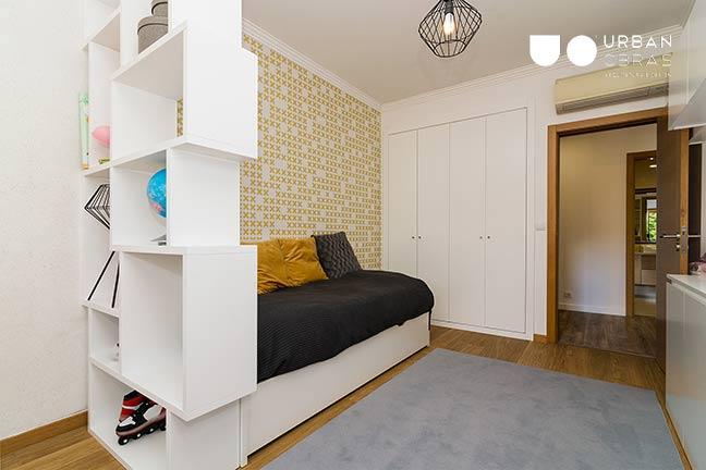 Remodelação de Apartamento Urban Obras | quarto adolescente