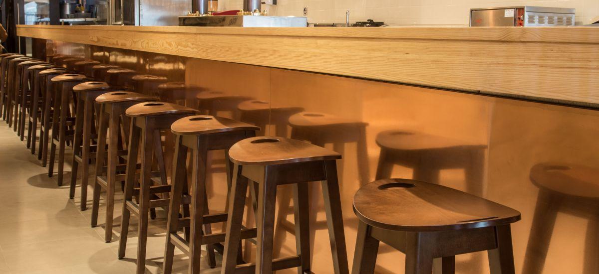 Reabilitação de Restaurante Pedro dos Frangos - Bancos do Balcão
