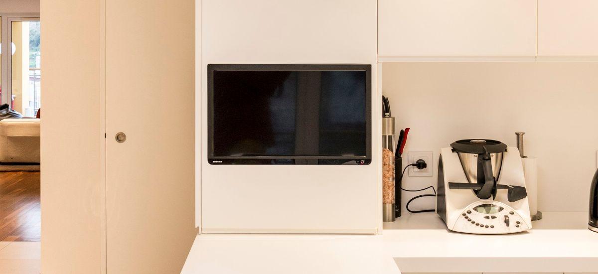 Remodelação de Casa - Pormenor Televisão