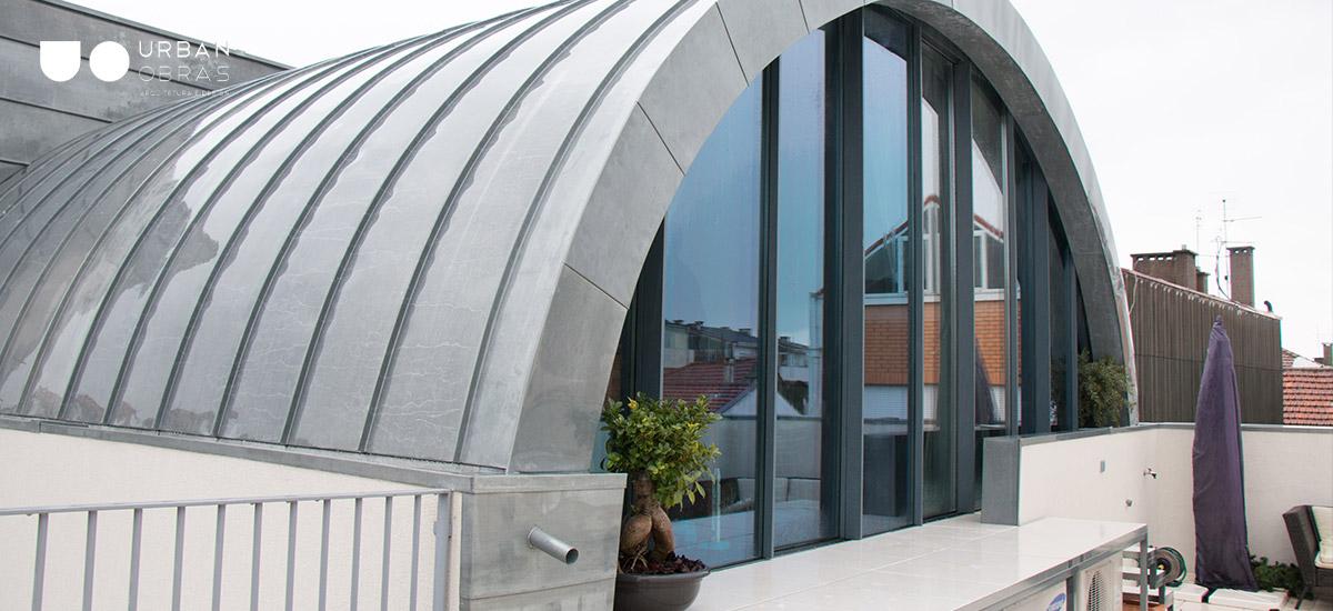 projeto de arquitetura Porto com construção de abóbada de berço, ampliação e remodelação de casa