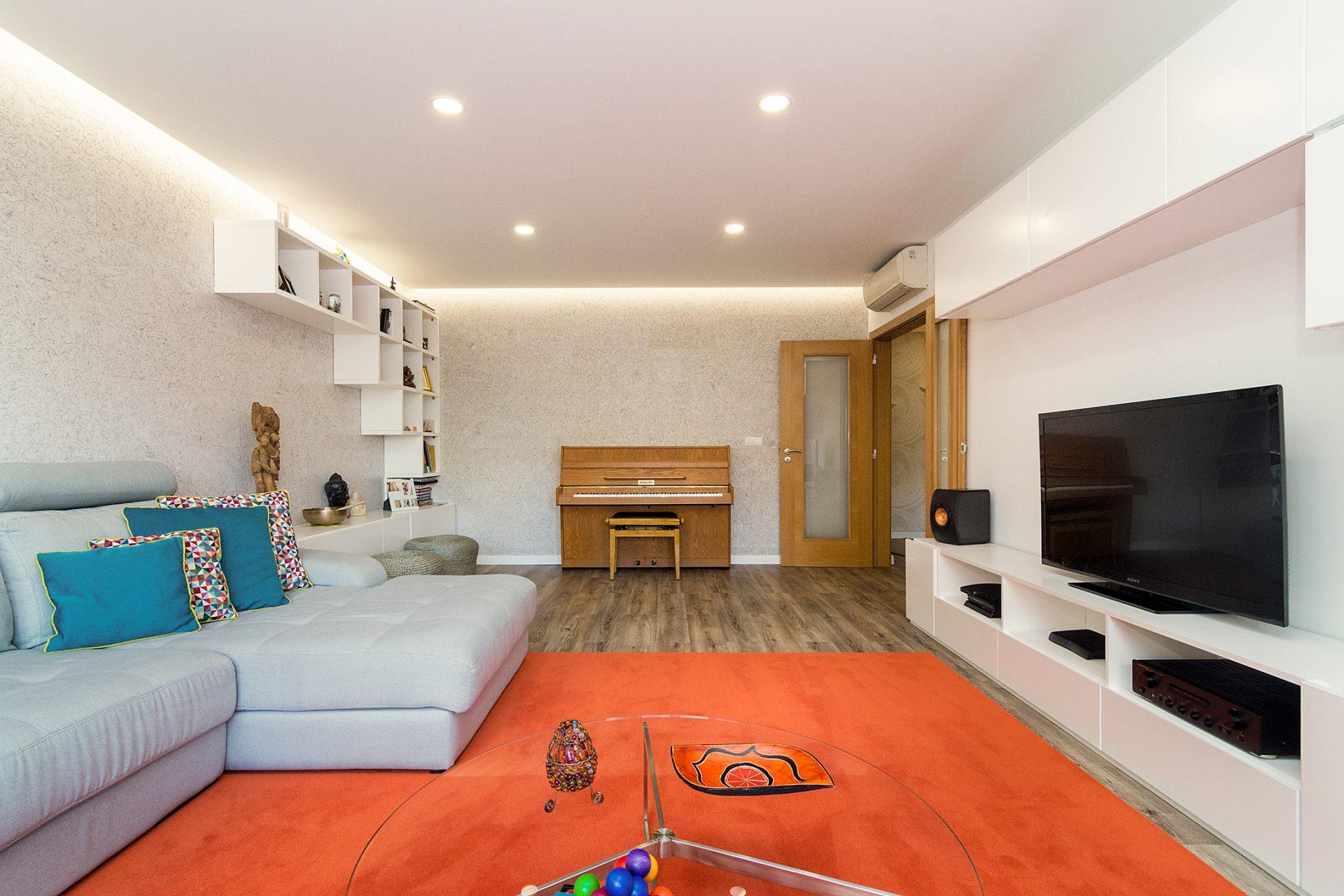 Modernidade e Tradição na Remodelação de Apartamento T3