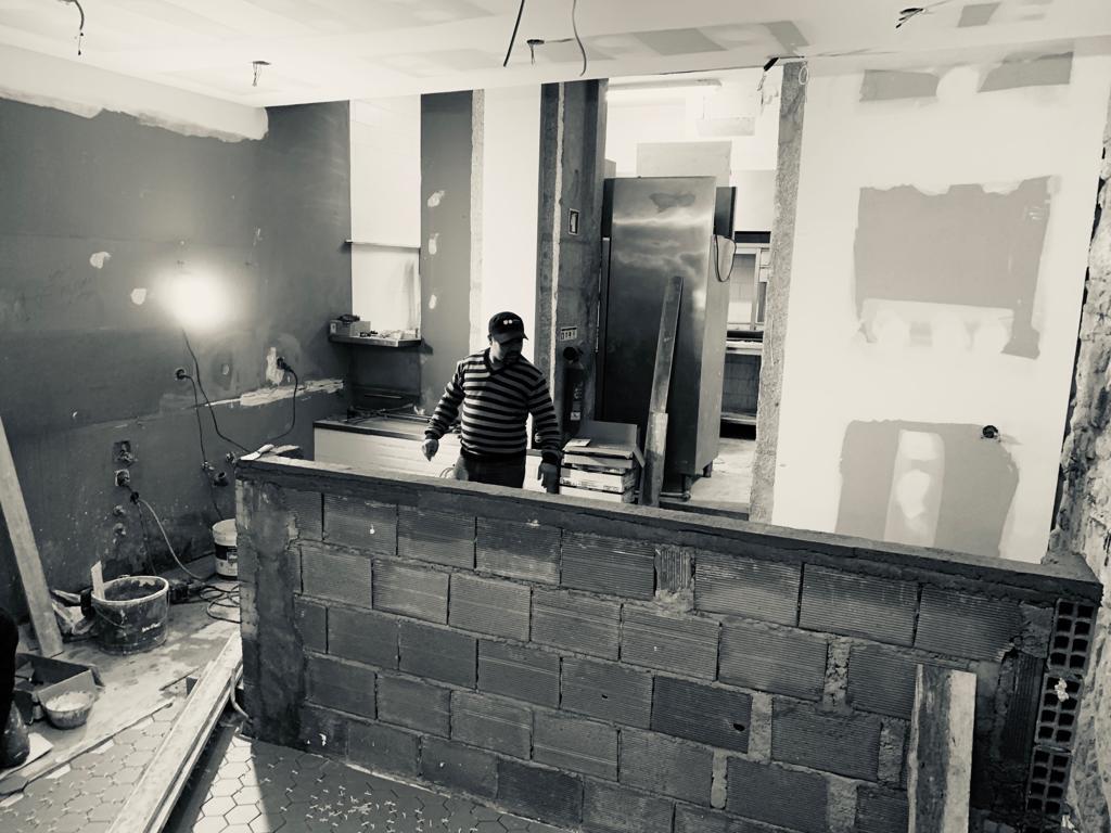 Remodelações Comerciais - 4 Royal- Remodelação Hotelaria - Antes