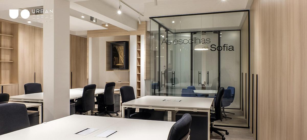 remodelação de escritório em Barcelos