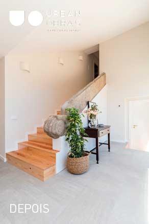 remodelação de escadas- empresa de remodelações- urban obras