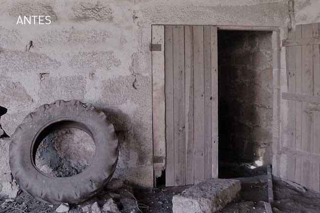 exterior antes da remodelação