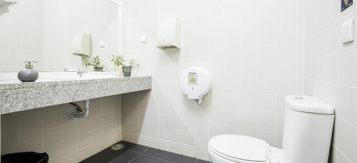Projeto Construção Balneários FERROVIAL - Pormenor Casa de Banho