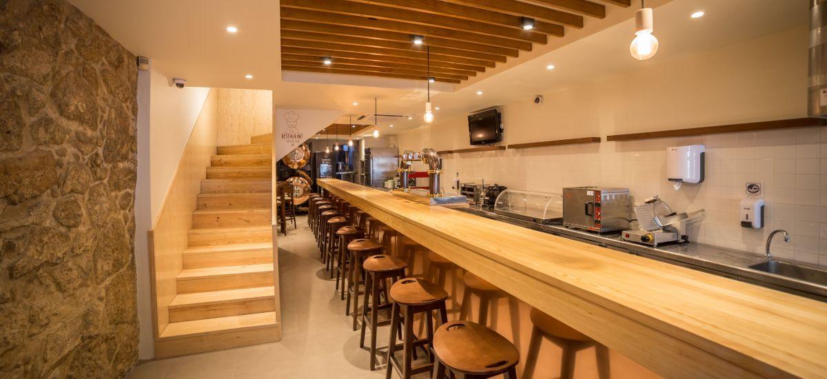 Reabilitação de Restaurante Pedro dos Frangos - Balcão
