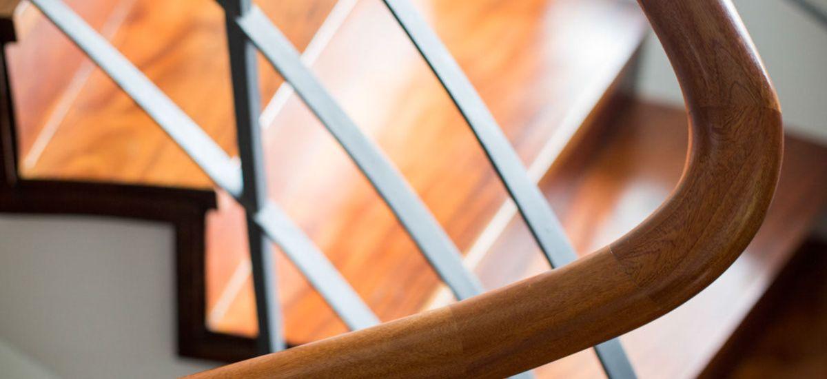 Remodelação de Moradia Triplex - Pormenor Escadas Interiores
