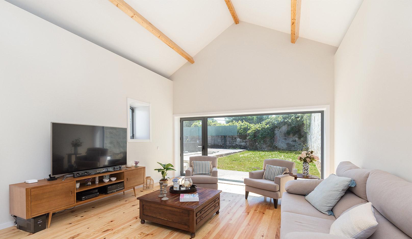 Remodelação de moradia, reabilitação de casa, projeto de arquitetura