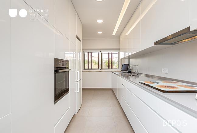 cozinha, remodelacao de apartamento