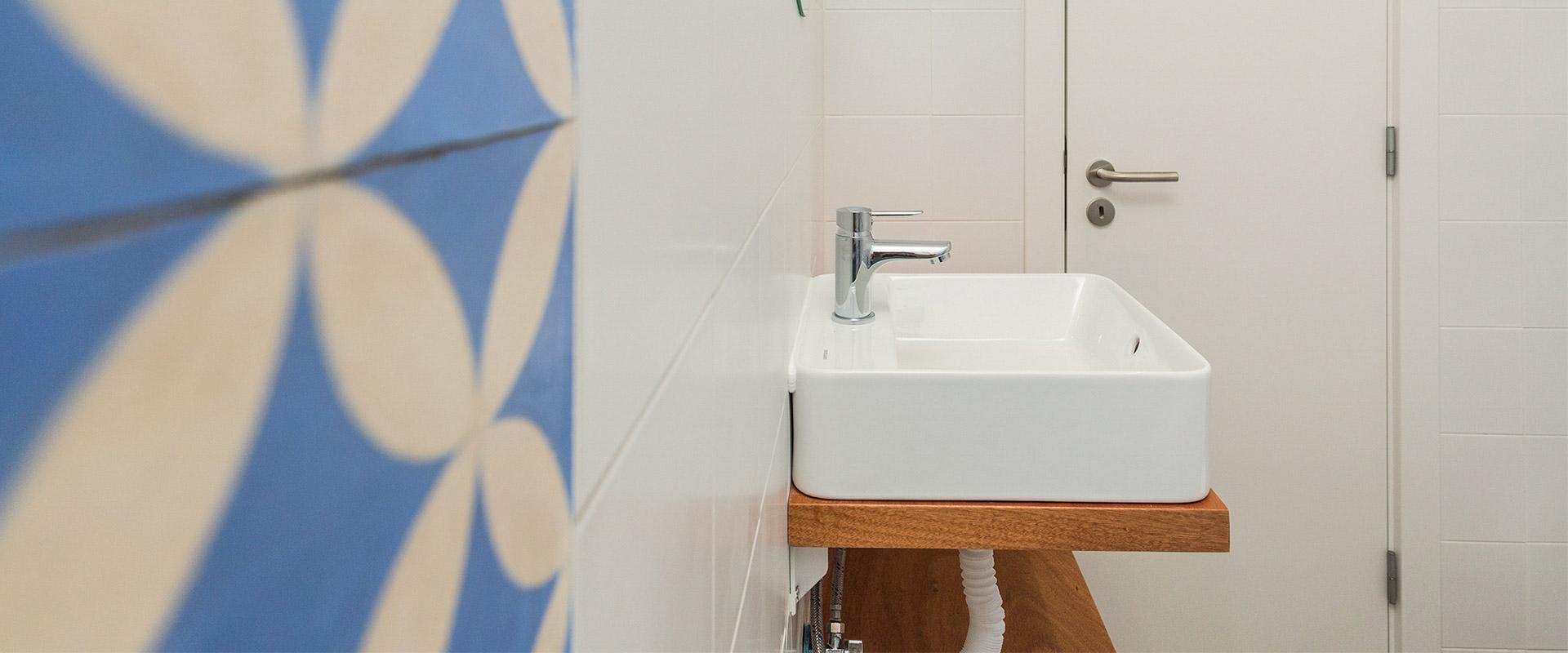 Remodelação de casa de banho em casa alentejana