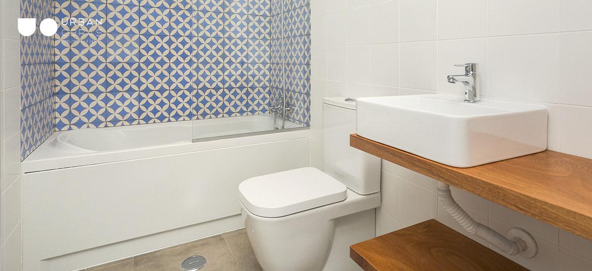 remodelação de casa de banho inspiração árabe em Évora