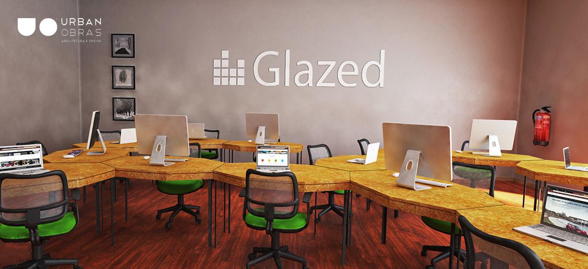 remodelação de espaços de trabalho, decoração de escritório glazed, mobiliário à medida glazed
