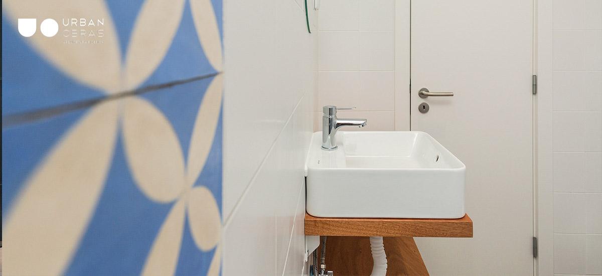 remodelação de casa de banho inspiração árabe