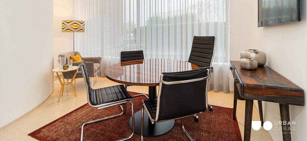 Remodelação escritório Nbrand - sala de reunião