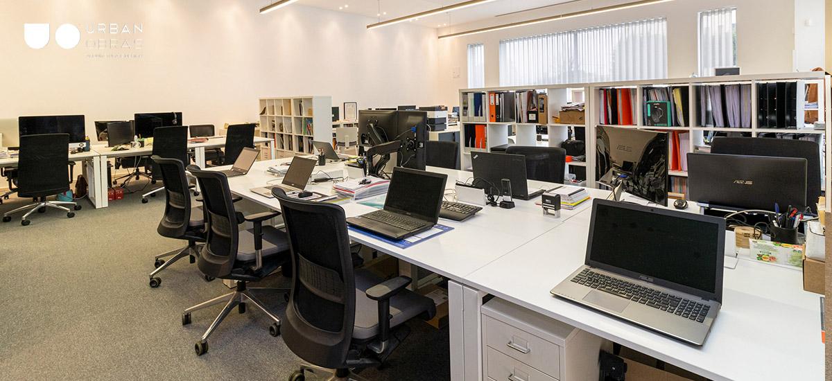 Remodelação escritório Nbrand - openspace