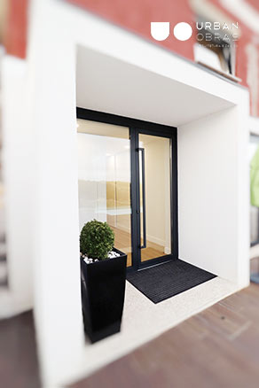Exterior moderno e remodelado