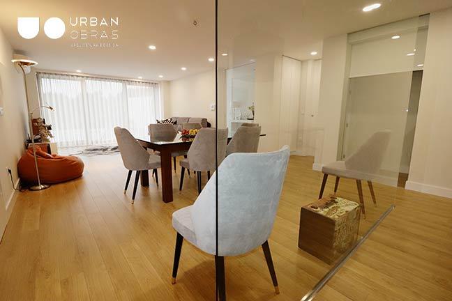 remodelação sala   empresa de remodelações   Urban Obras