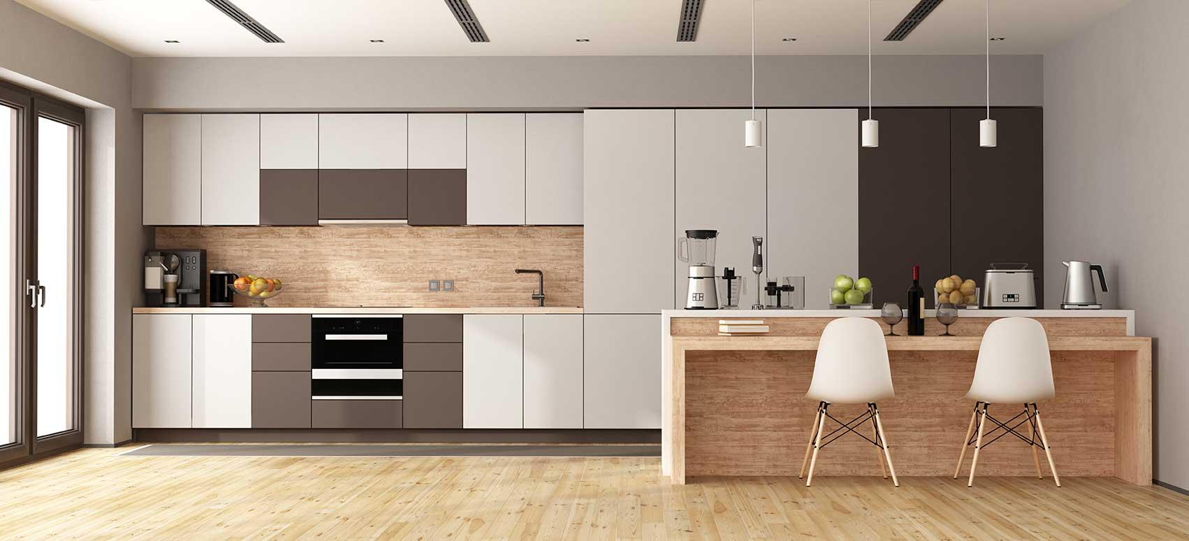 Remodelações de cozinhas com inovação