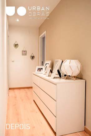 corredor, remodelacao integral de apartamento
