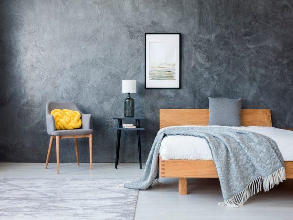 quarto cinza, cores pantone 2021