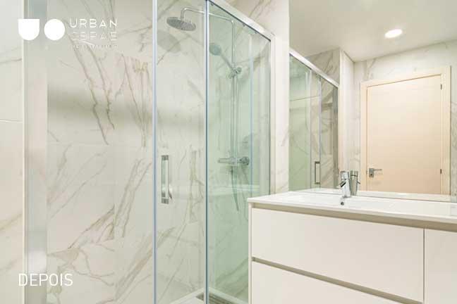 casa de banho - remodelacao de apartamento em benfica