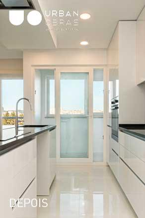 cozinha - remodelacao de apartamento em benfica