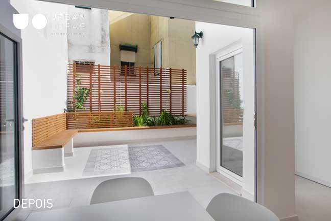 exterior depois da remodelação de apartamento | Urban Obras | Empresa de remodelações