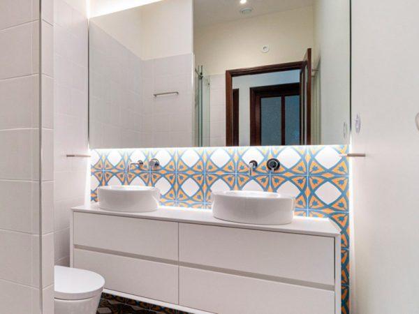 detalhes, casas de banho pequenas