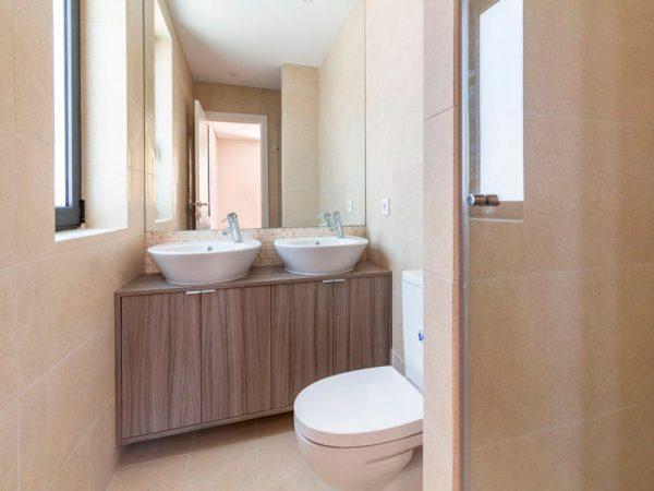 espelhos, casas de banho pequenas