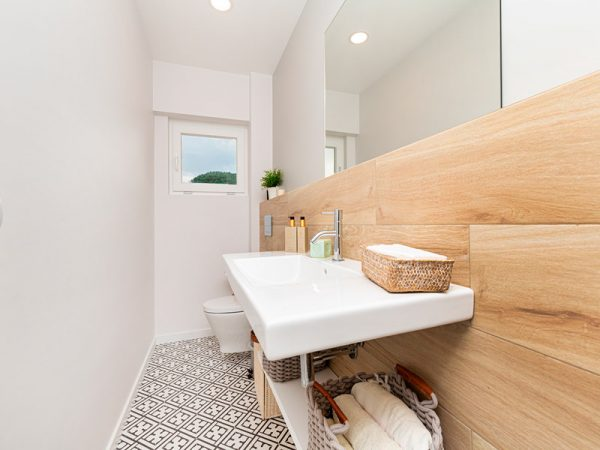 organização, casas de banho pequenas