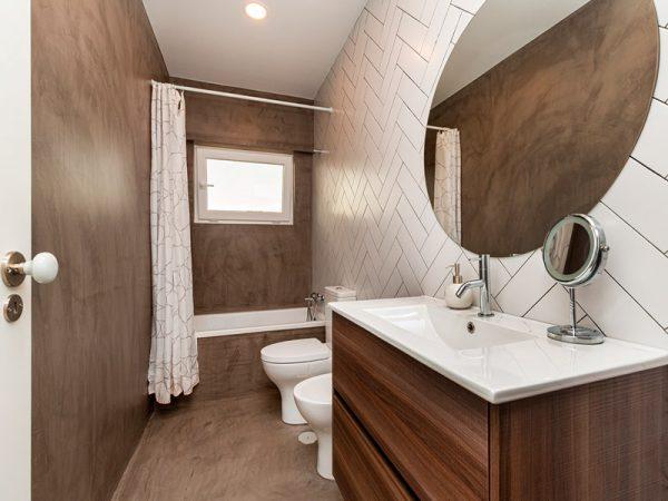 texturas, casas de banho pequenas