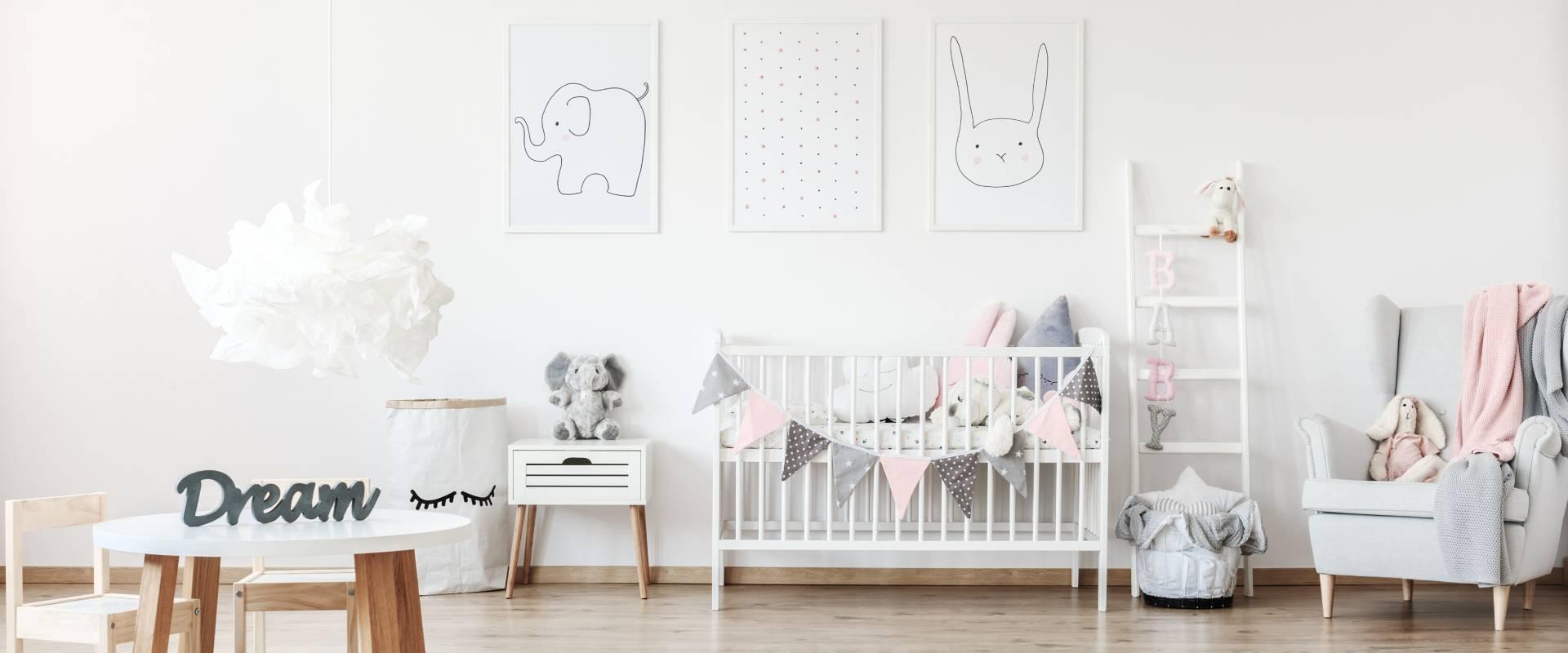 Decoração de Quarto de Bebé: 6 dicas