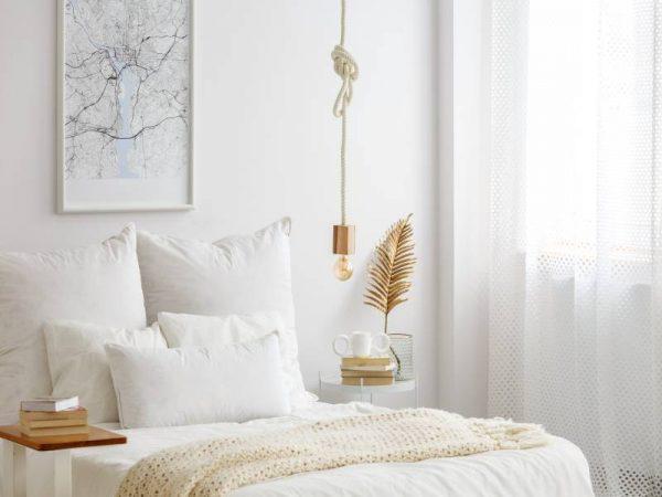 decoração de quarto minimalista