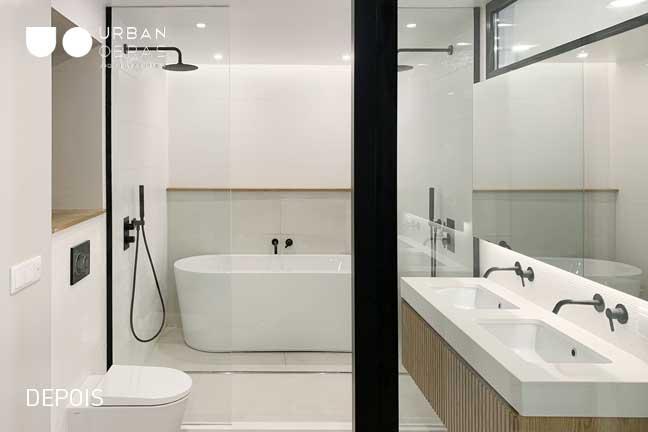 remodelação total casa de banho