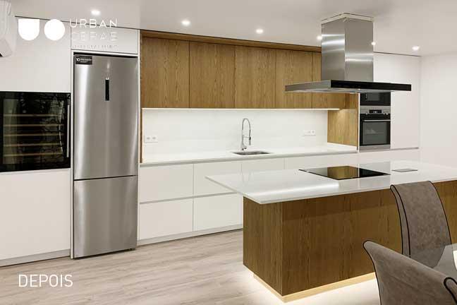 remodelação total cozinha