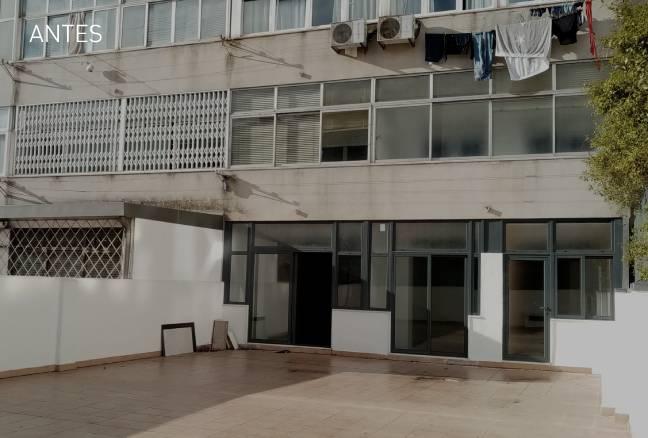 decoração de terraço