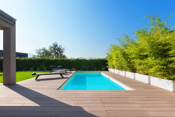 piscinas exteriores
